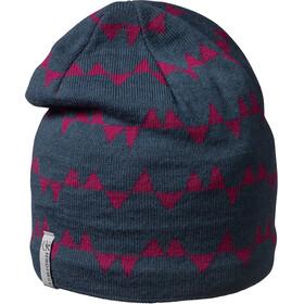 Isbjörn Hawk Bonnet en maille tricotée Enfant, bleu/rose